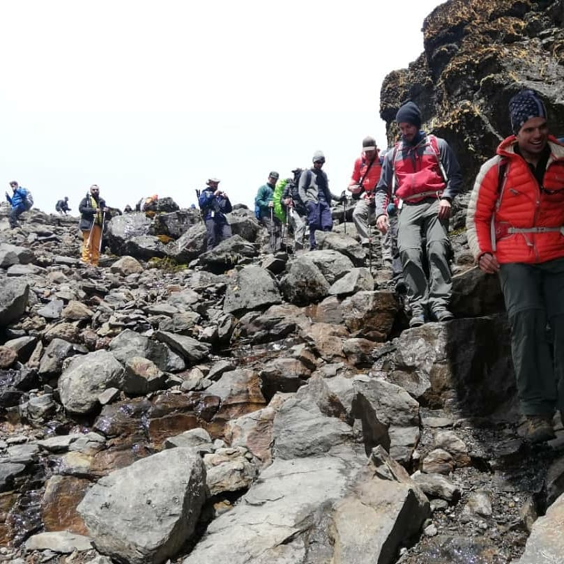 Day Four: Shira Camp (3,840 m/12,600 ft) – Lava Tower (4,630 m/15,190 ft) – Barranco Camp (3,950 m/12,960 ft)