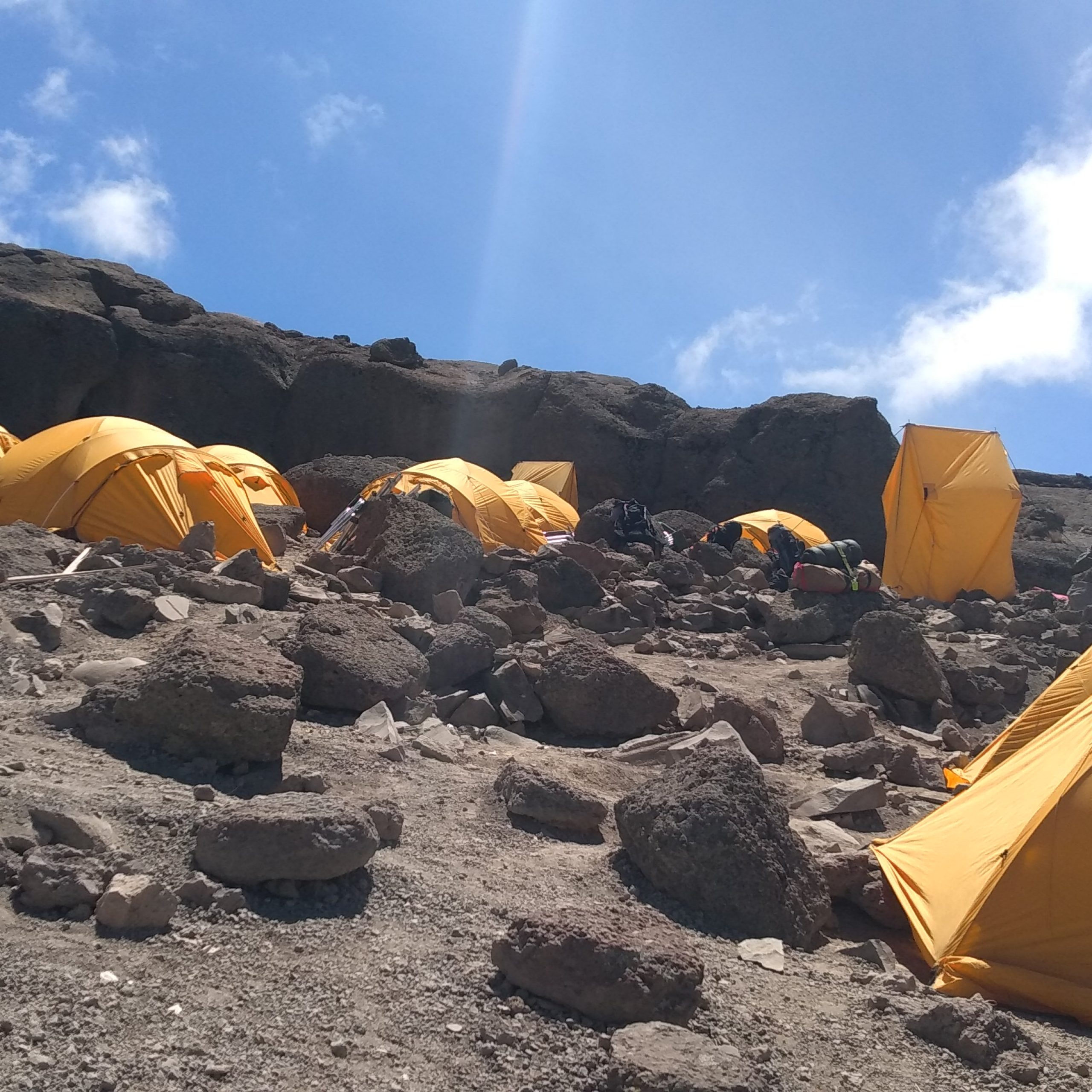Day Six– Barafu Camp (4,550 m/14,930 ft) – Summit via Stella Point (5,752 m/18,871 ft) to Uhuru Peak (5,895 m/19,340 ft) and descent to Millennium Camp (3,820 m/12,530 ft) or to Mweka Camp (3,100 m/10,170 ft)